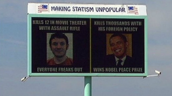 James Holmes - Obama billboards